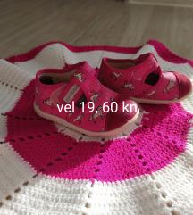 papučice za djevojčice, 19 i 21