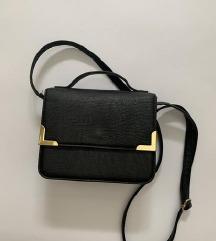 H&M mala crna torba