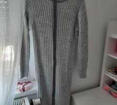 Pletena haljina sa remenom