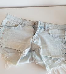 H&M kratke hlače jeans vel. XS