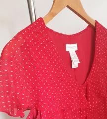 LIZ CLAIBORNE dizajnerska svilena haljina