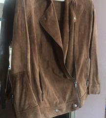 Pepe Jeans jakna od brušene kože