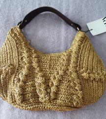 Zara pletena torba