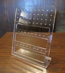 Pleksiglas stalak za naušnice