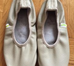 Kožne papučice za ples