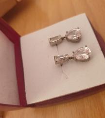 srebrne naušnice