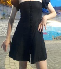 Zara haljina od lana i viskoze XS/S