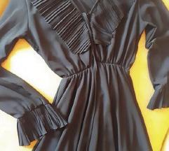 Crna svećana haljina za punije L/XL 2XL