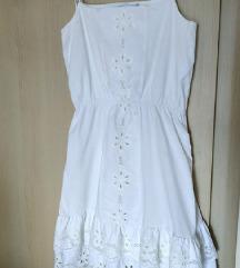 Zara Boho embroidery haljina