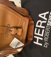 Hera by Robert Severt smeđa kožna torba (NOVA)