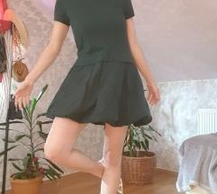 Predivna zelena popelin haljina!