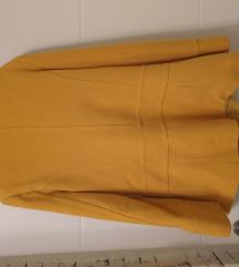 Žuti ženski kaput