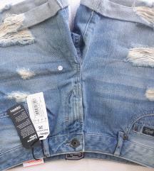 Jeans kratke hlace, NOVO! (s etiketom)