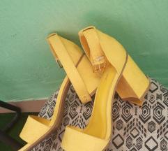 Žute sandale br.37