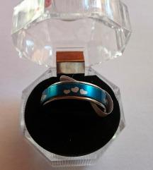 Prsten srca sa kutijicom