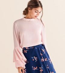 Nježno roza bluza