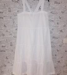 Nova midi bijela haljina 48