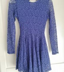 Nova h&m čipkana asimetrična haljina
