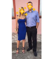 Plava haljina za izlaske
