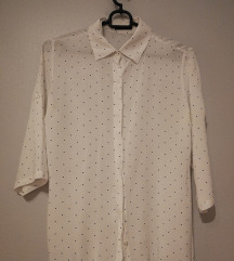 Bijela košulja s točkicama