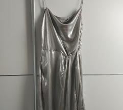 H&M metalic haljina