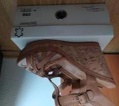 Platforma sandale uklj pt