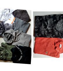 Lot od 9 muških majica
