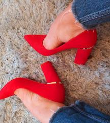 Block peta, crvene barsun cipele