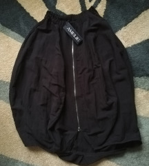 Nova crna dizajnerska suknja S/M