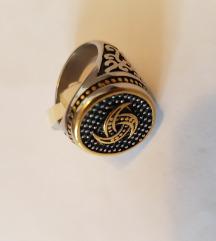 Muško prstenje od nehrđajućeg čelika