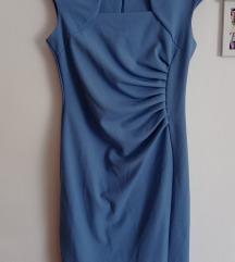 Baby blue haljina