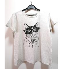 H&M majica na mačku (pt gratis)
