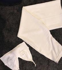 Zara bijeli komplet