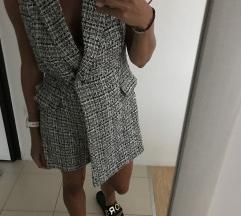 Zara sako haljina tvid