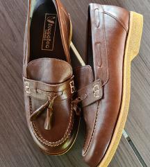Kožne Ivančica cipele, boja čokolade,  NOVE!