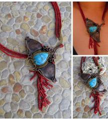 Manta ray ogrlica (moguca narudzba)