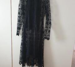La jupe čipkana haljina