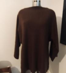 Zara premium 100% kasmir pulover vesta cashmere