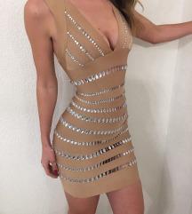 """""""Herve Leger"""" bandage uska haljina"""