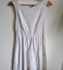 NAF NAF čipka haljina svečana