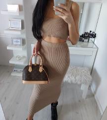 NUDE KOMPLET suknja + top