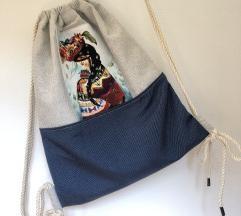 Plavi ruksak