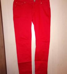 Crvene MISS SPORTY uske hlače