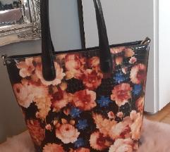Velika cvijetna torba