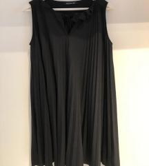 Pennyblack plisirana crna haljina