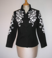 Donna Karan izvezena bluza košulja