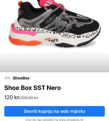 Shoebox tenisice nove nenošene
