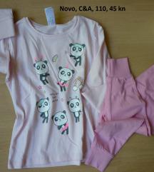 Nova C&A pidžama, 4-5 g.110