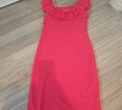 Rozasta haljina uni