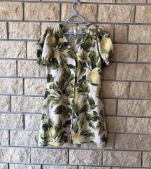 H&M haljina na limune